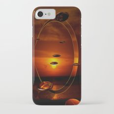 Exploding Sunset iPhone 7 Slim Case