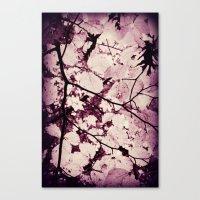 Underneath the Tree Canvas Print