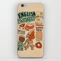 English Breakfast iPhone & iPod Skin