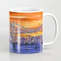 Ben Franklin Bridge Suns… Mug