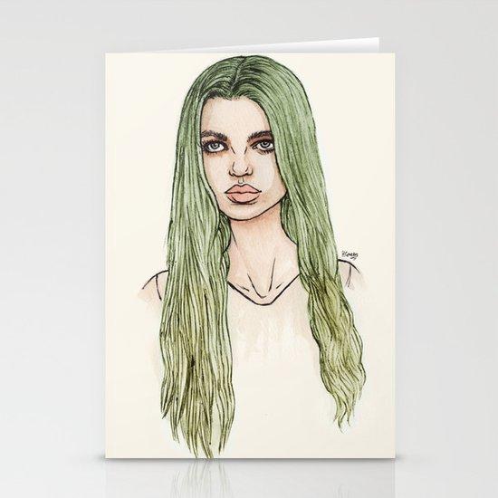 Daphne Stationery Card