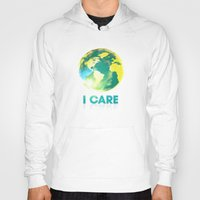 I Care / Blue Hoody