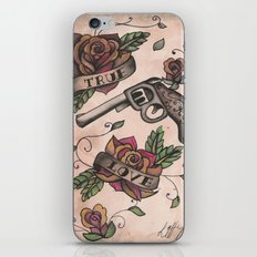 The guns and the roses iPhone & iPod Skin