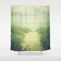 Finding Calm Shower Curtain