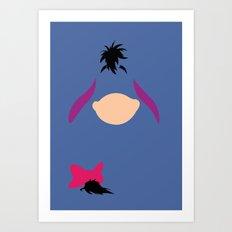 Winnie the Pooh - Eeyore Art Print