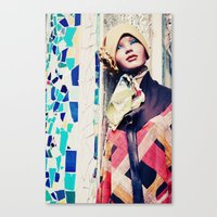 mannequin Canvas Print