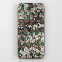 CUBOUFLAGE MULTI (SMALL) iPhone & iPod Skin