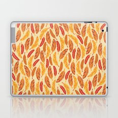Red Feathers Laptop & iPad Skin
