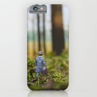 iPhone & iPod Case featuring In Search of Bigfoot (Ode to Thoreau) by Tricia McKellar