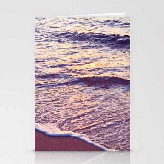 Morning Waves Stationery Card