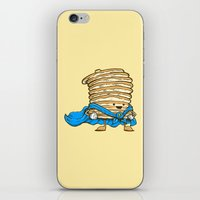 Captain Pancake iPhone & iPod Skin