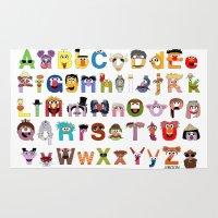 Sesame Street Alphabet Rug
