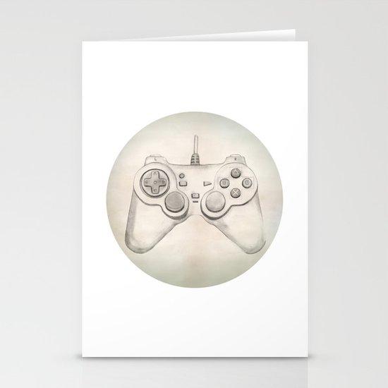 Joystick #02 Stationery Card