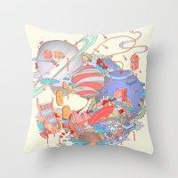 Cosmic Koinonia. Throw Pillow