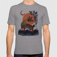 Dusk Mens Fitted Tee Athletic Grey SMALL