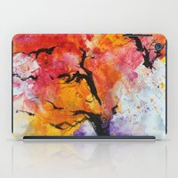 Abstraction on a tree iPad Case