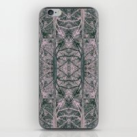 pink woods iPhone & iPod Skin
