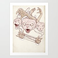 Cat's Cradle Art Print