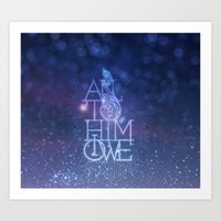 All To Him I Owe Art Print