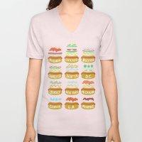 Hot Dogs! Re-do Unisex V-Neck