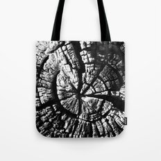 Texture Tree Rings Tree slice Old Tree photograph Natural beauty Tote Bag