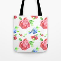 Summer Flowers Tote Bag