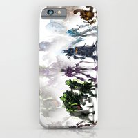iPhone & iPod Case featuring Gears Linup by Justin Currie