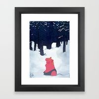 The Age Of Curious Framed Art Print