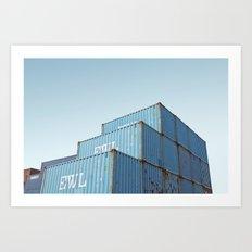 Curaçao - Container Art Print