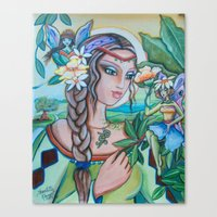 Canvas Print featuring Into Fairy Land by Shantelle Knight