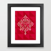 Himmeli Framed Art Print