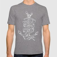 You Are An Anchor Mens Fitted Tee Tri-Grey SMALL