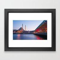 Istanbul Sunrise Framed Art Print