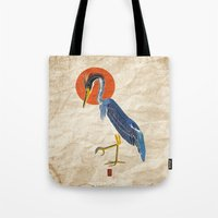 Japanese Crane Tote Bag
