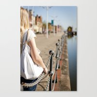 Hull port Canvas Print