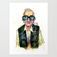 George A. Romero Art Print