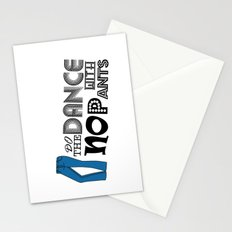 Dance With No Pants Stationery Cards
