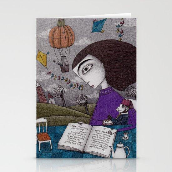 November Stories Stationery Card
