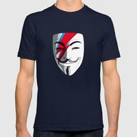 Viggy Starfawkes – Who wants to be anonymous? Mens Fitted Tee Navy SMALL