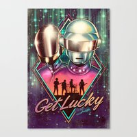 Get Lucky - Daft Punk Canvas Print