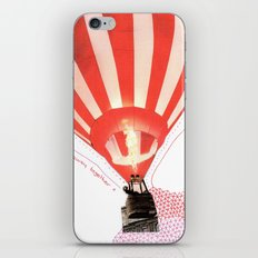 Let's fly away together iPhone & iPod Skin