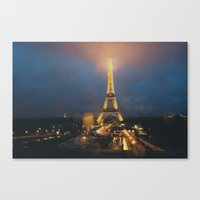 all lit up ... Canvas Print