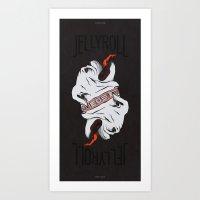 Jellyroll #10: Bull Dog … Art Print