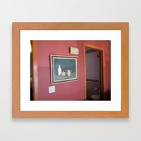 wall painting Framed Art Print