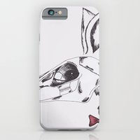iPhone & iPod Case featuring francine the rabbit queen. by Kristi Crow