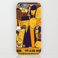 iPhone Cases featuring Breaking Bad (yellow version) by Ale Giorgini
