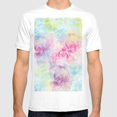 Summer Craziness 1 SMALL Mens Fitted Tee White