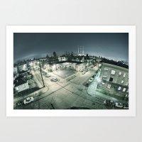 Capitol Hill - Seattle W… Art Print