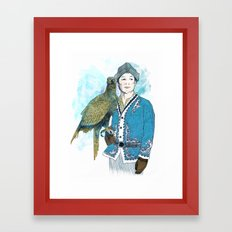 Wisdom 2 Framed Art Print