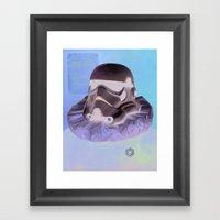 The planner Framed Art Print